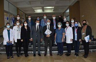 """OMÜ'de """"Sağlık Gönüllüleri"""" ekibi kuruldu"""