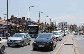 Sivas'ta araç sayısı 170 bine dayandı