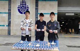 TÜGVA'lı gençlerden Mevlid-i Nebi Haftası'nda anlamlı kampanya