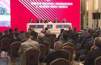 Türkiye Voleybol Federasyonu'nda Mehmet Akif Üstündağ yeniden başkan seçildi