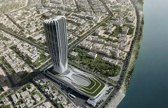 Zaha Hadid'in son projesi Irak Merkez Bankası'na özel kalıp sistemi