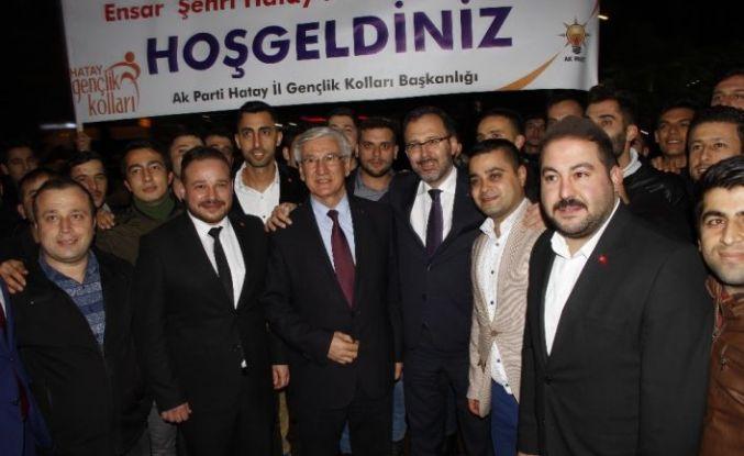 """Kasapoğlu: """"AK Partimiz 18 yıldır güçlü bir şekilde iktidarda"""""""