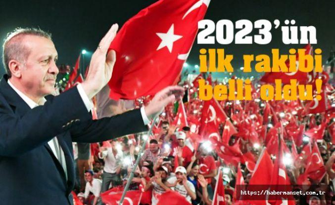 Erdoğan'ın ilk rakibi belli oldu!