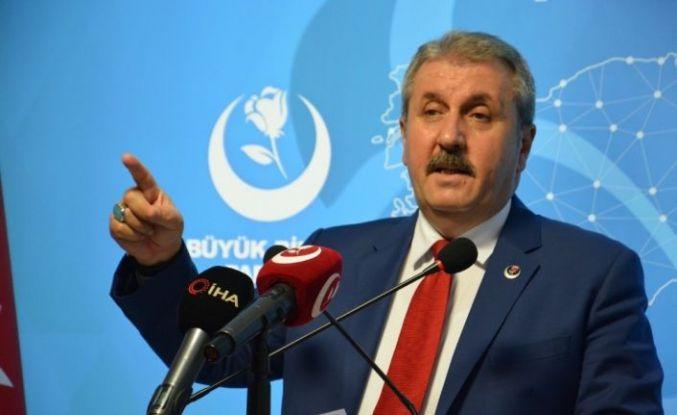 BBP Genel Başkanı Destici'den İstanbul Sözleşmesine tepki