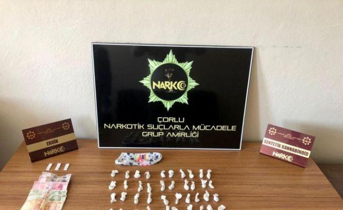Çorlu'da polisten uyuşturucu satıcılarına geçit yok