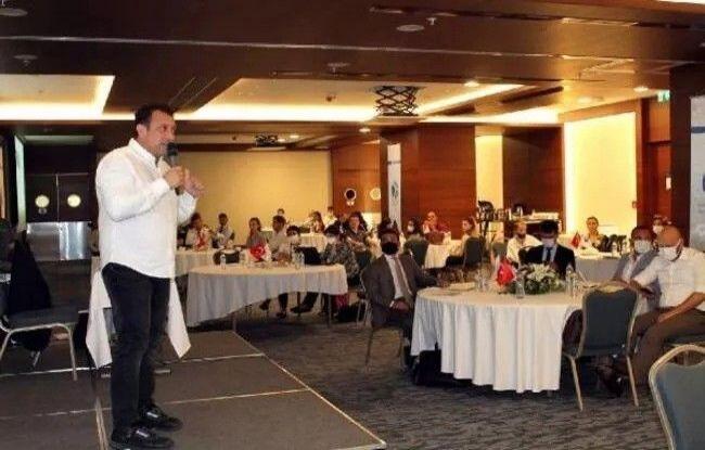 """Öğr. Üyesi Özdemir, """"AB Proje Kampı ve Dış İlişkiler Çalıştayı""""na katıldı"""