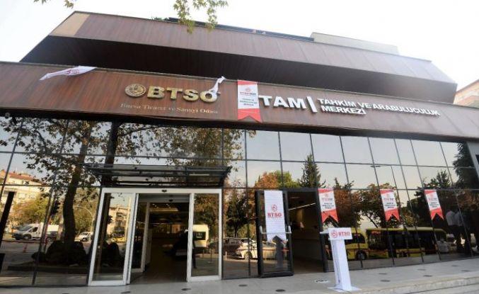 BTSO TAM'ın yenilenen binası hizmete girdi