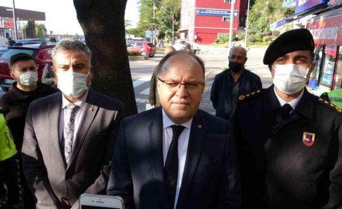 Vali Tutulmaz'dan korona virüs açıklaması
