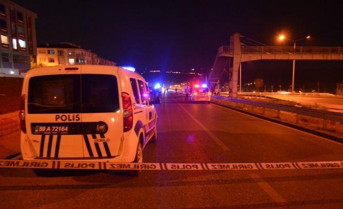 Tekirdağ'da korkunç kaza: 2 ölü 1 ağır yaralı