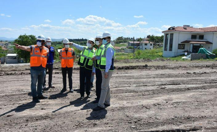 Milletvekili Adil Çelik BALOSB'da yatırımları inceledi