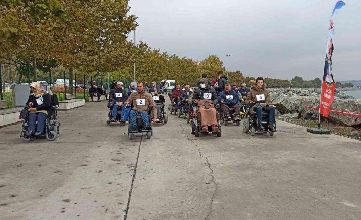 Krediyle tekerlekli sandalye aldı, 6. Akülü Sandalye Rallisi'ni kazandı